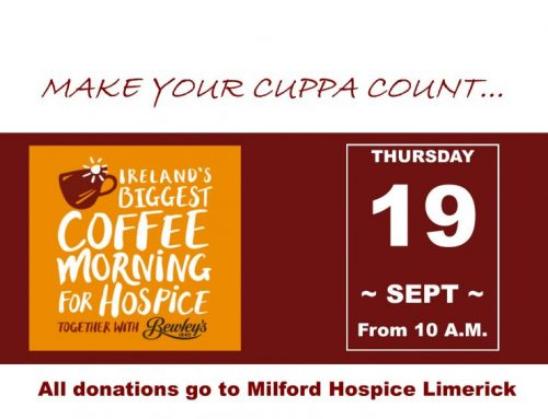 Coffee Morning for Milford Hospice 2019