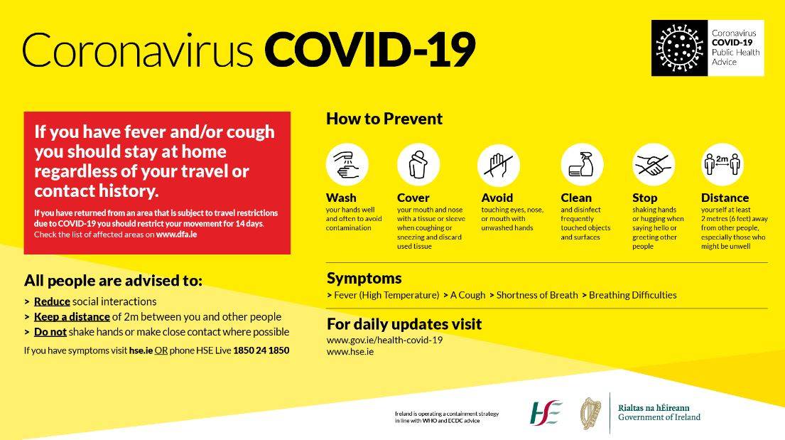 Covid-19 Update Protection & Life Policies